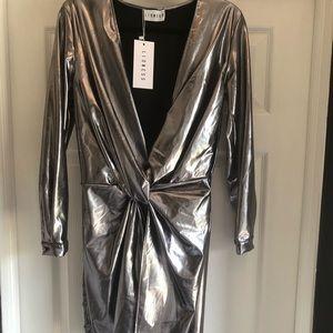NWT Metallic Dress
